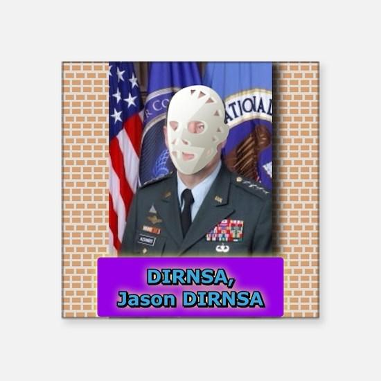 Jason DIRNSA Sticker