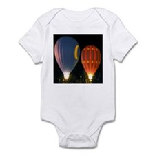 Two Night Balloons Infant Bodysuit