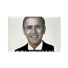 George_obama.png Rectangle Magnet