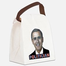 George_obama.png Canvas Lunch Bag