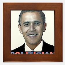 George_obama.png Framed Tile