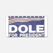 Dole.png Aluminum License Plate