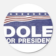 Dole.png Round Car Magnet