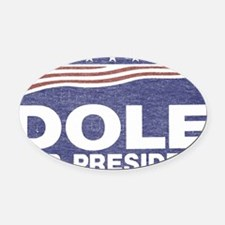 Dole.png Oval Car Magnet