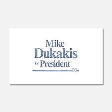 MikeDukakis.png Car Magnet 20 x 12