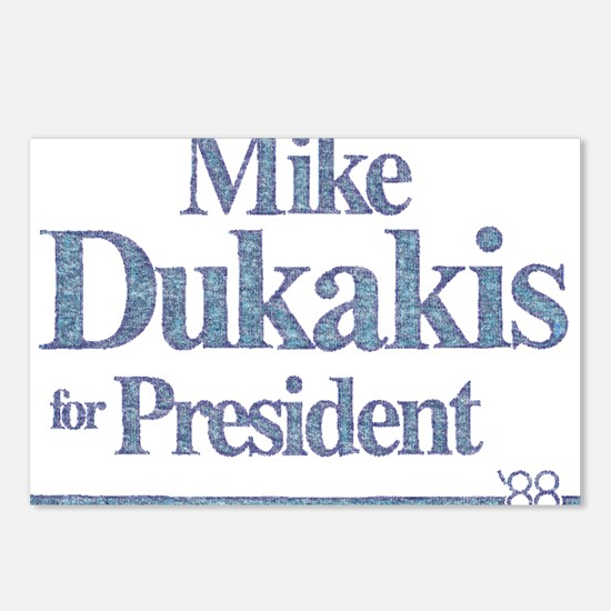 MikeDukakis.png Postcards (Package of 8)