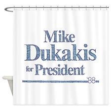 MikeDukakis.png Shower Curtain