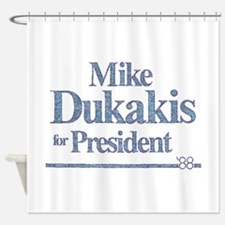 MikeDukakis.png Shower Curtain