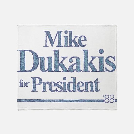 MikeDukakis.png Throw Blanket