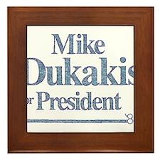 MikeDukakis.png Framed Tile