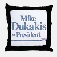 MikeDukakis.png Throw Pillow