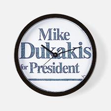 MikeDukakis.png Wall Clock