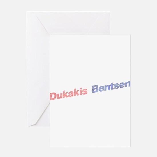 Dukakis-Bentson.png Greeting Card