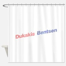 Dukakis-Bentson.png Shower Curtain