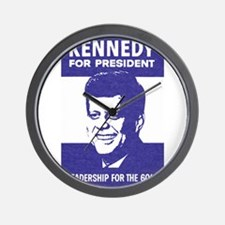 kennedy.png Wall Clock