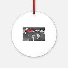 nixonagnew.png Ornament (Round)