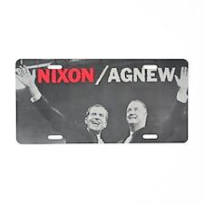 nixonagnew.png Aluminum License Plate