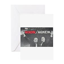 nixonagnew.png Greeting Card