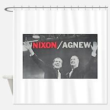 nixonagnew.png Shower Curtain