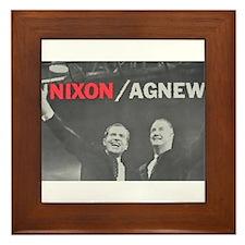 nixonagnew.png Framed Tile