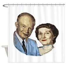 ikeandwife.png Shower Curtain