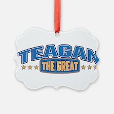 The Great Teagan Ornament