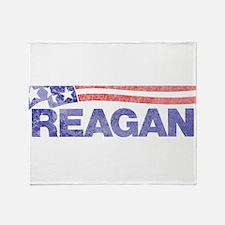 fadedronaldreagan1976.png Throw Blanket
