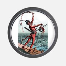 paint_the_town_red.png Wall Clock