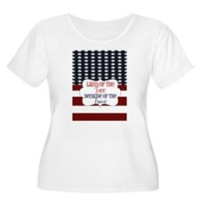FOURTH OF JULY Plus Size T-Shirt