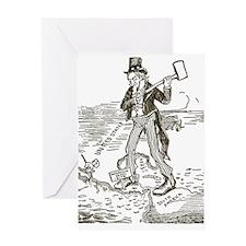 1895NicaraguaCanalCartoon.png Greeting Card