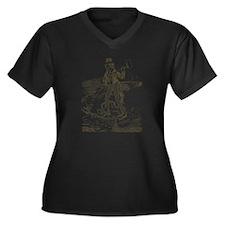 1895NicaraguaCanalCartoon.png Plus Size T-Shirt