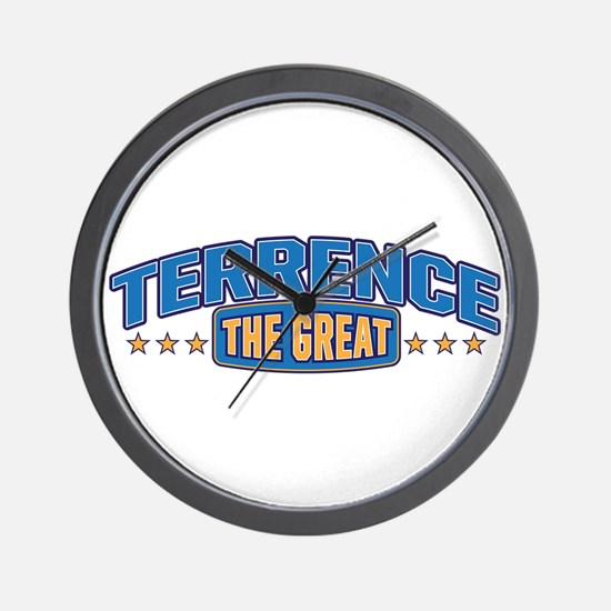 The Great Terrence Wall Clock
