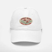 Sunset Beach Salt Lake Baseball Baseball Baseball Cap