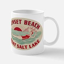 Sunset Beach Salt Lake Mug