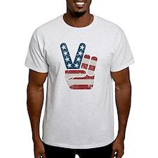 Peace Sign USA Vintage T-Shirt