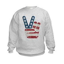Peace Sign Vintage Sweatshirt