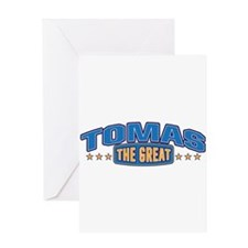 The Great Tomas Greeting Card