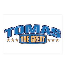 The Great Tomas Postcards (Package of 8)