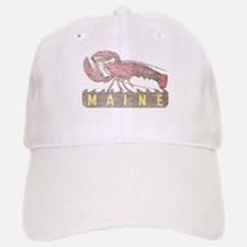 Vintage Maine Lobster Baseball Baseball Cap