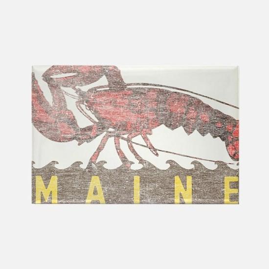 Vintage Maine Lobster Rectangle Magnet