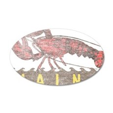 Vintage Maine Lobster Wall Decal