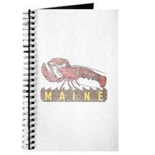 Vintage Maine Lobster Journal