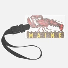 Vintage Maine Lobster Luggage Tag