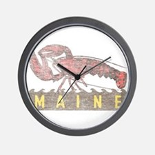 Vintage Maine Lobster Wall Clock