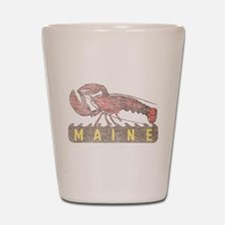 Vintage Maine Lobster Shot Glass