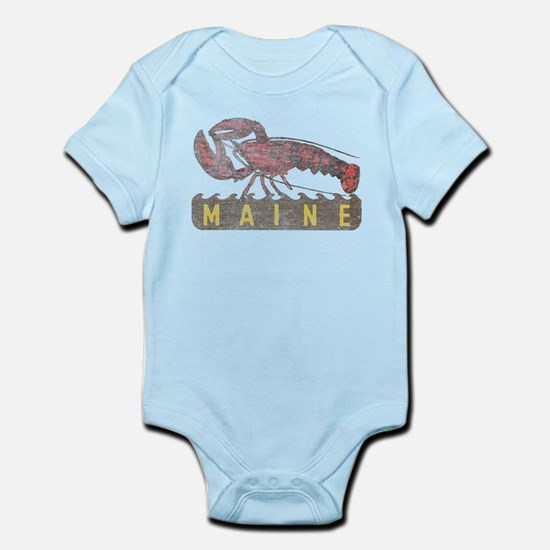 Vintage Maine Lobster Infant Bodysuit