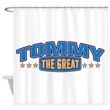 The Great Tommy Shower Curtain
