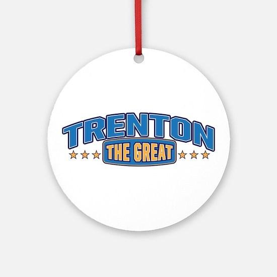 The Great Trenton Ornament (Round)