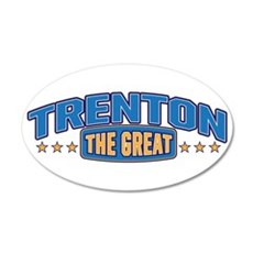 The Great Trenton Wall Decal