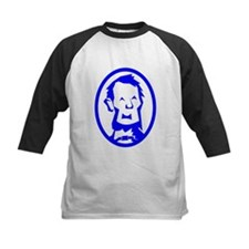 Blue Abraham Lincoln Portrait Baseball Jersey